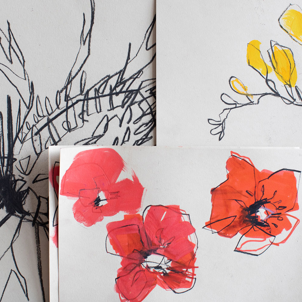 Inspired by British flowers, the collection features a Thistle, a Rose, a Freesia and a Poppy