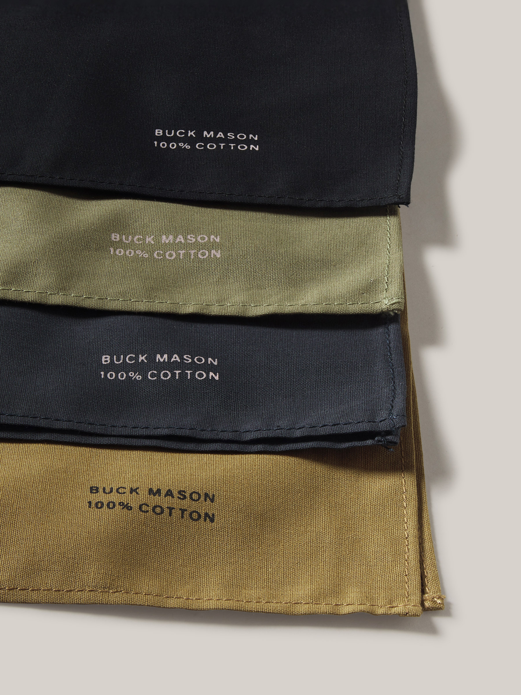 Buck Mason - Coal Built Tough Bandana 2-Pack