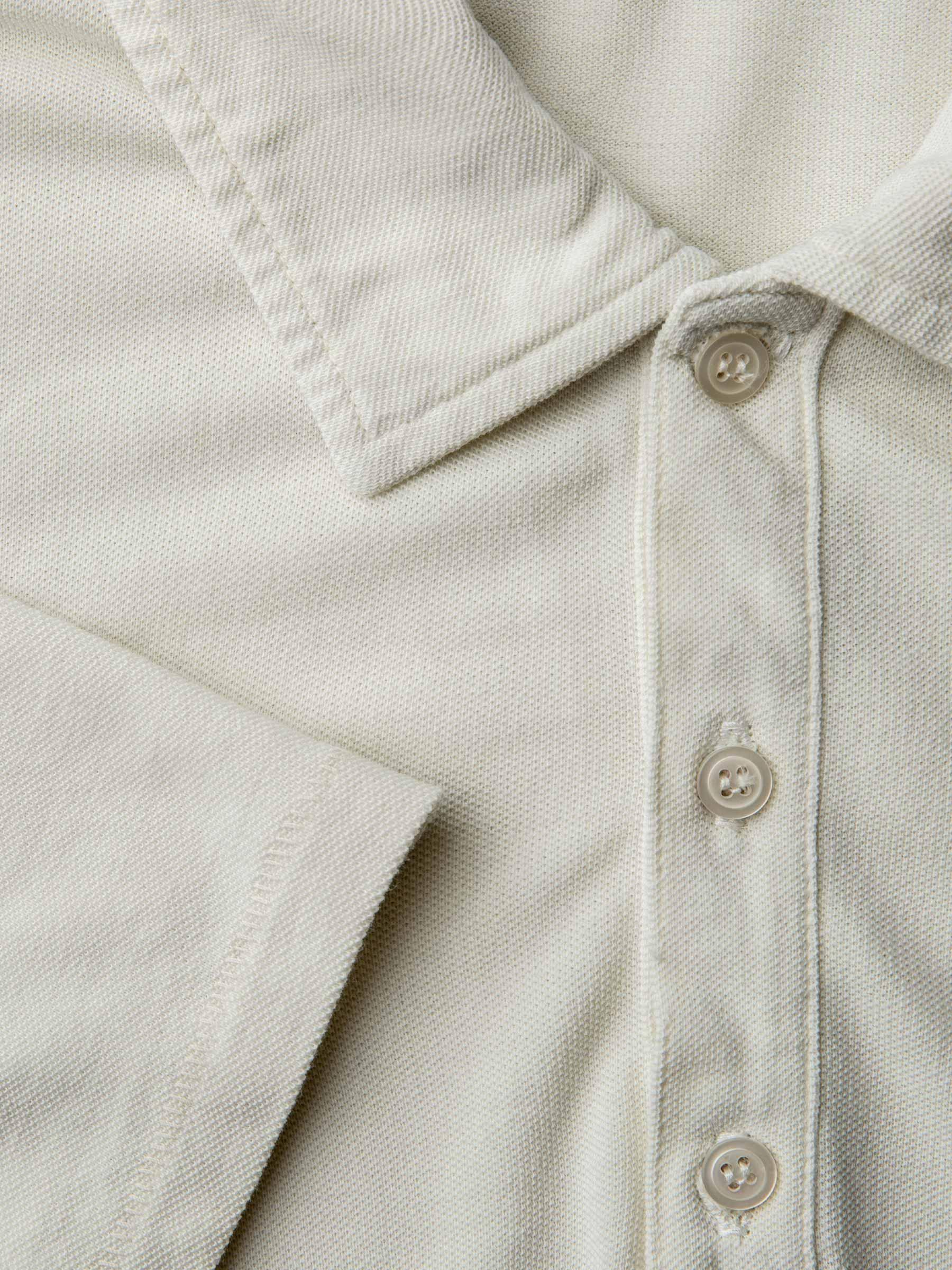 Buck Mason - Faded Black Pique Polo Shirt