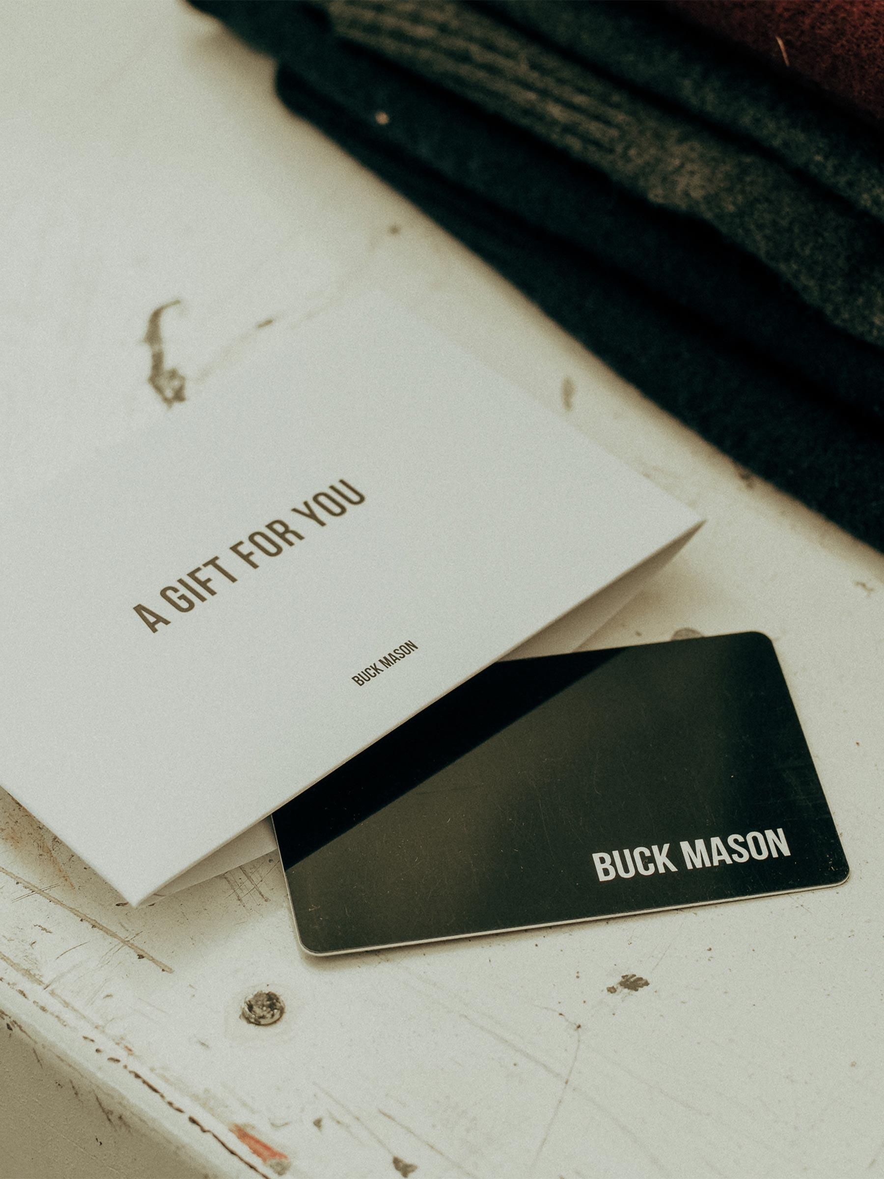 Buck Mason - Gift Card