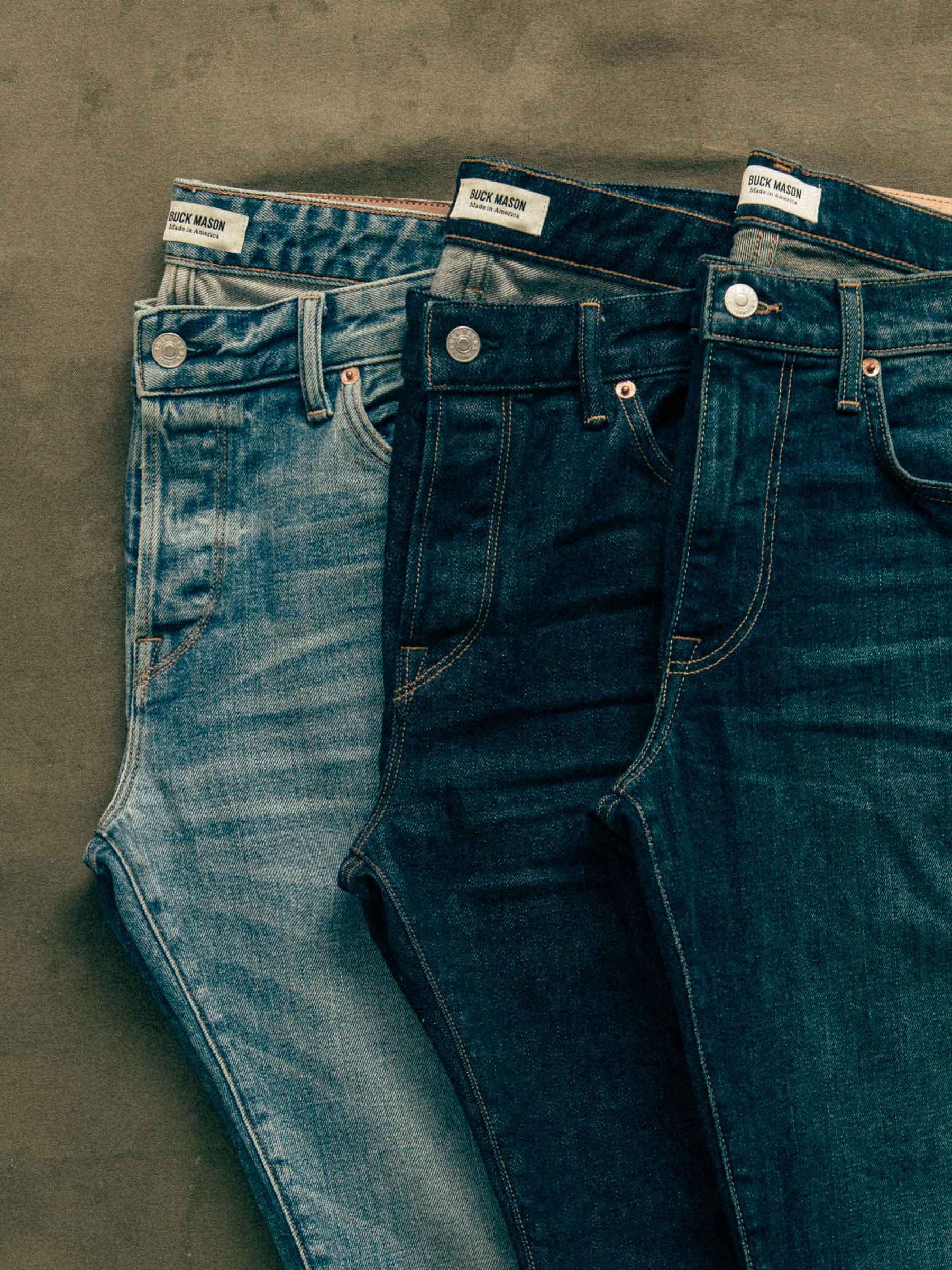 Buck Mason - L003 Light Wash Standard Jean