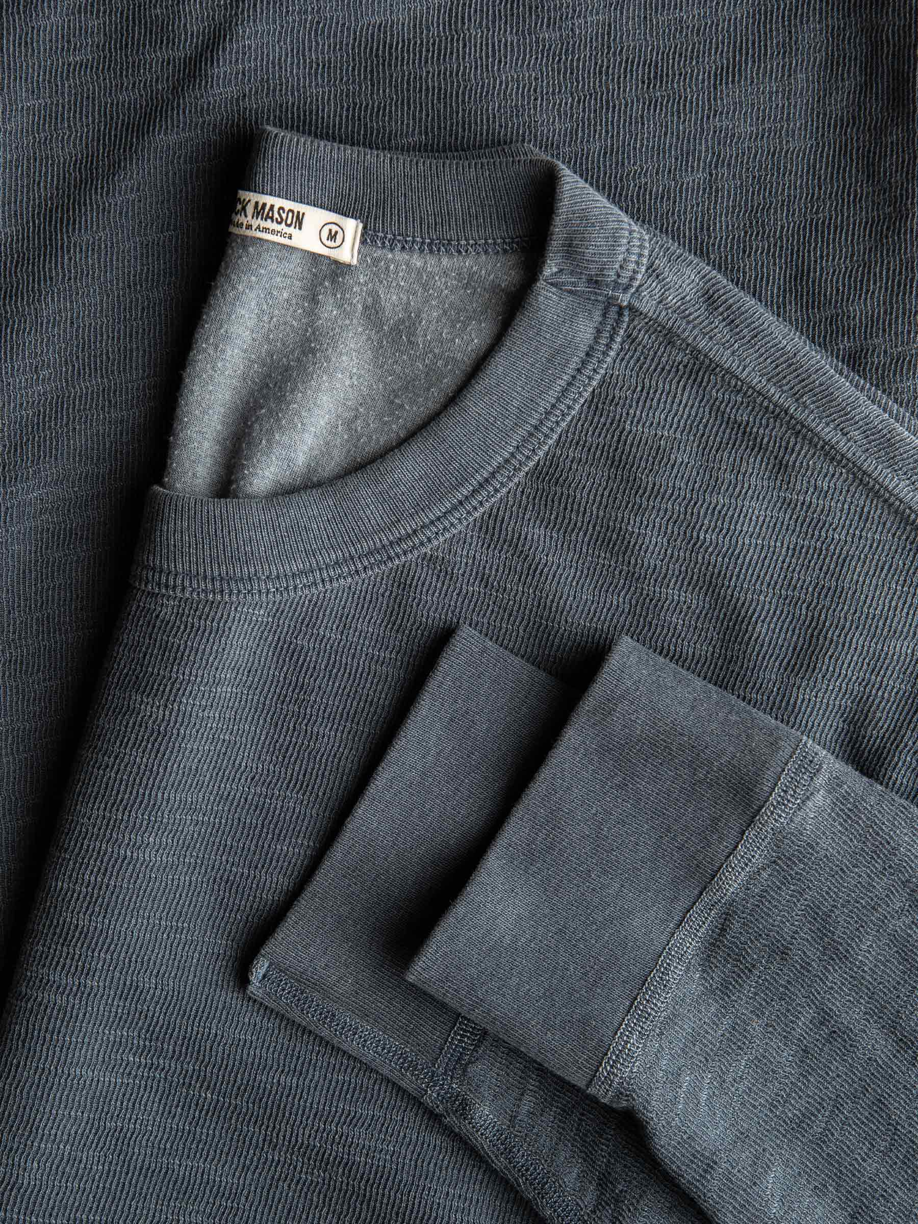 Buck Mason - Coal Lightweight Double Slub Sweatshirt