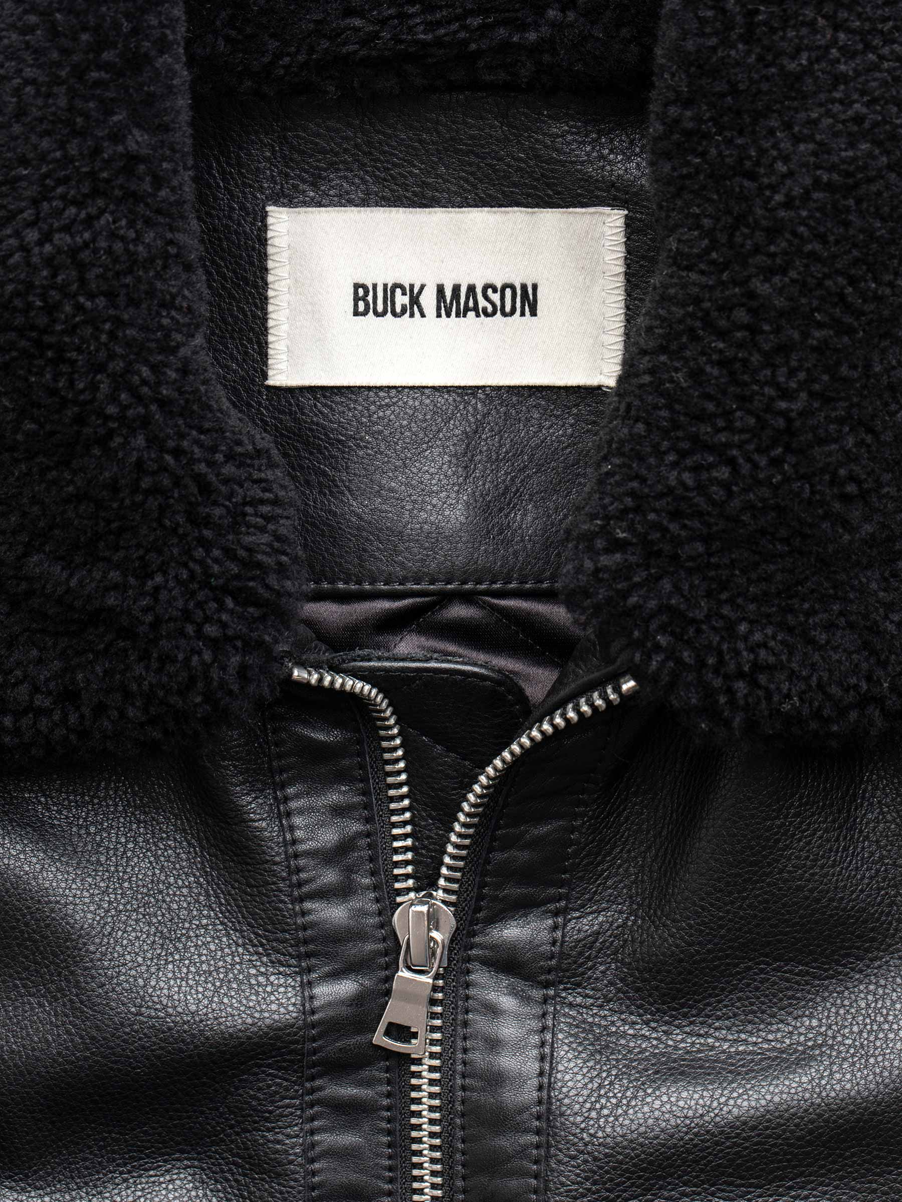 Buck Mason - Full Grain Sundown Flight Jacket