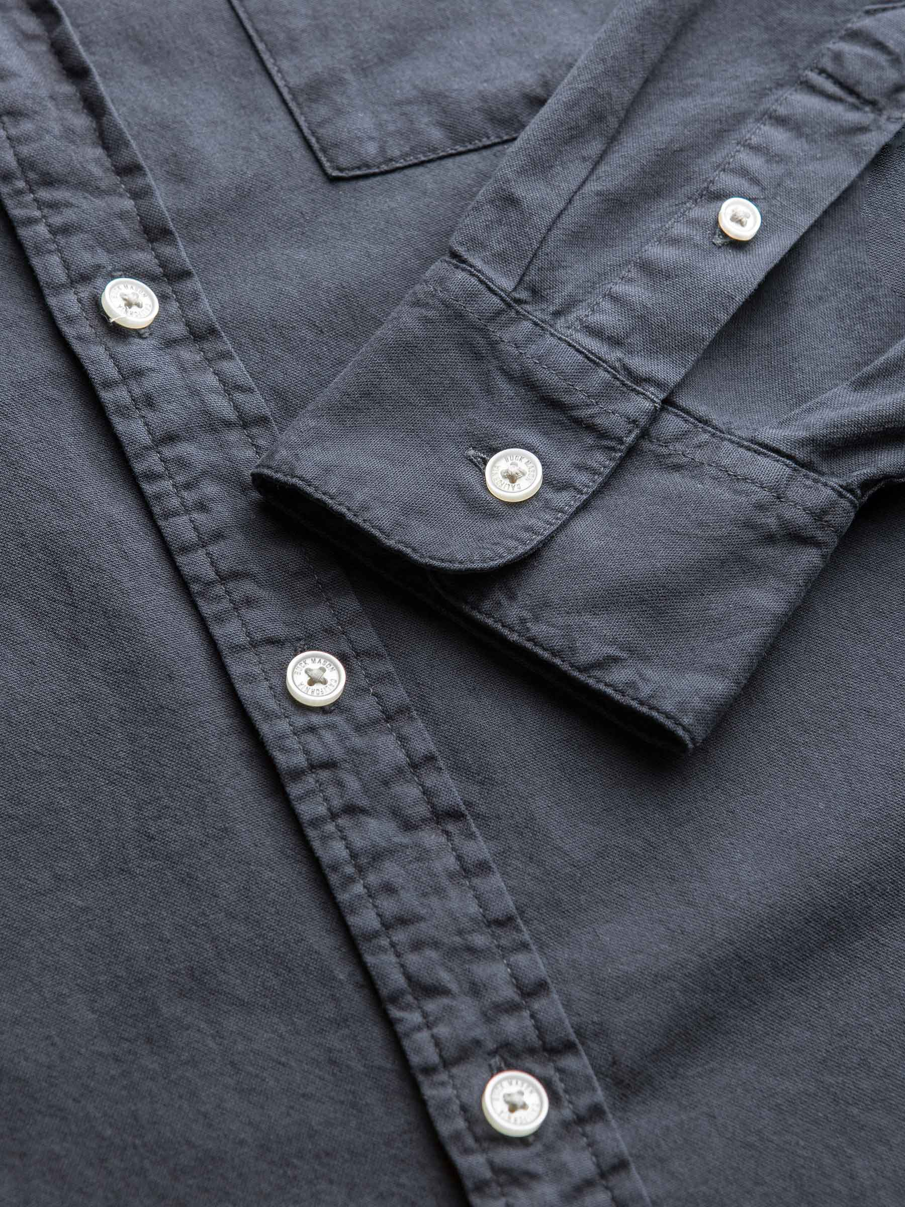 Buck Mason - Copper Perfect Oxford One Pocket Shirt
