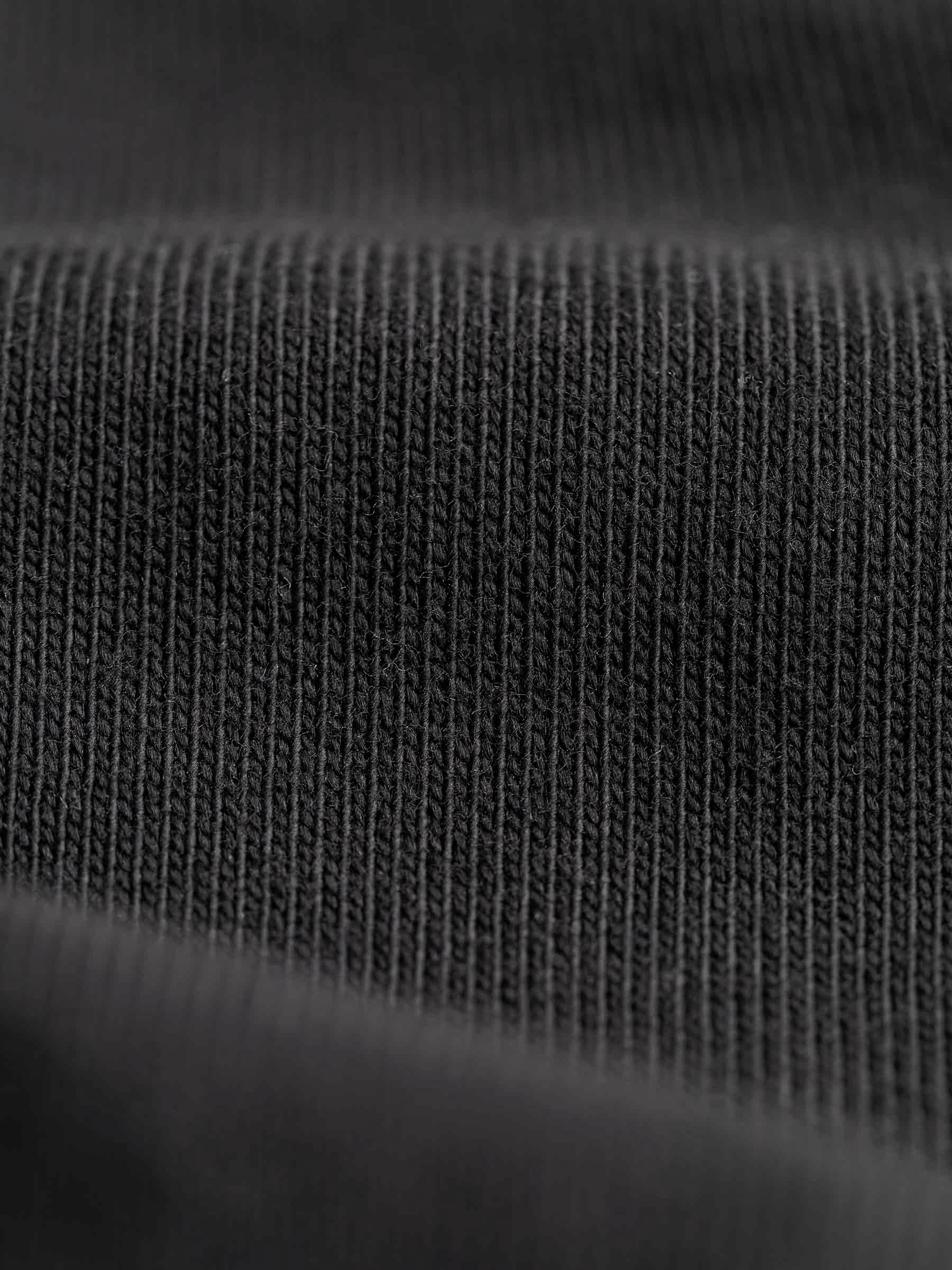Buck Mason - Black Sueded Cotton Long Sleeve Raglan Tee