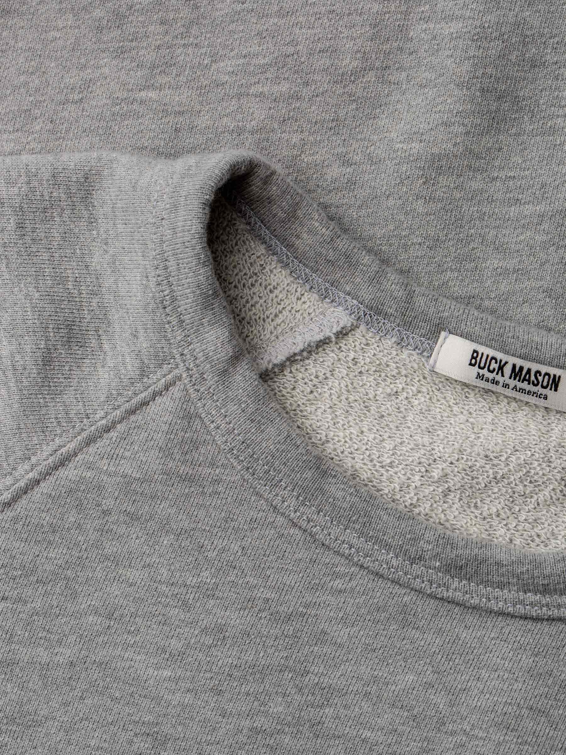 Buck Mason - Rust Venice Wash Vintage French Terry Raglan Sweatshirt