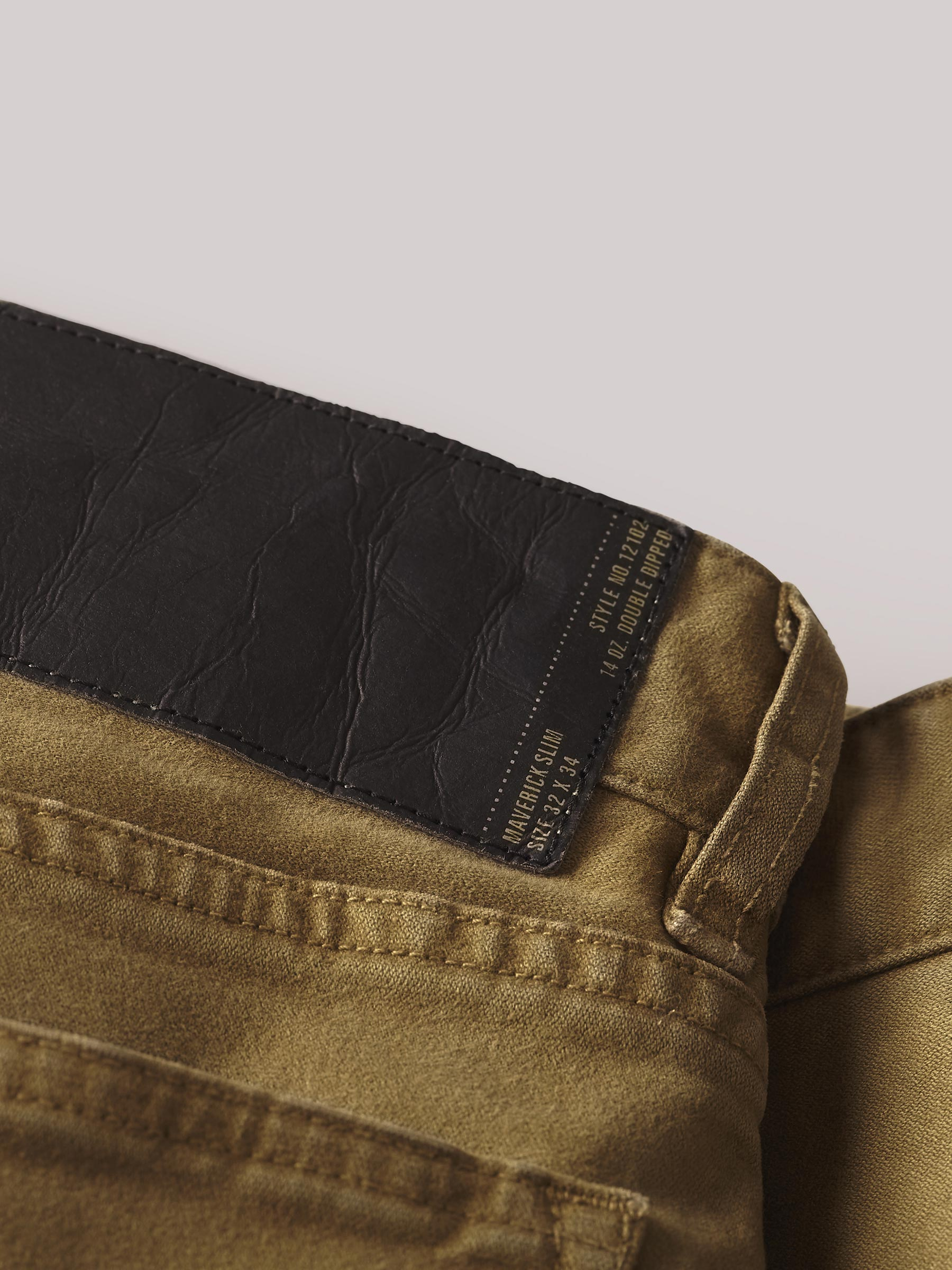 Buck Mason - Navy Harbor Twill Maverick Slim Jean