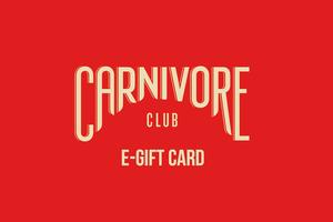 Carnivore Club Gift Card menu page_link
