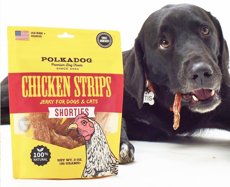 Chicken Strip Jerky Shorties