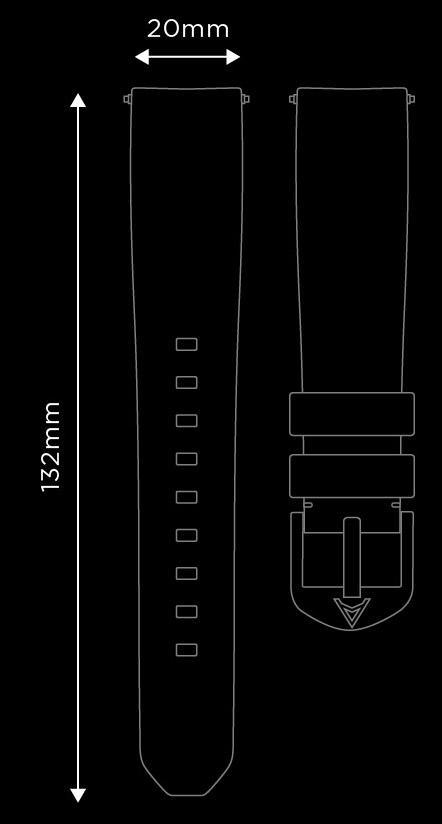 Tan Horween Strap (Fits Aqua Compressor)