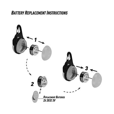 Instructional image for MoonLit® LED Micro Lantern